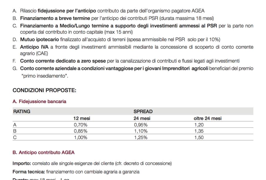 offerta commerciale soci Confagricoltura Puglia